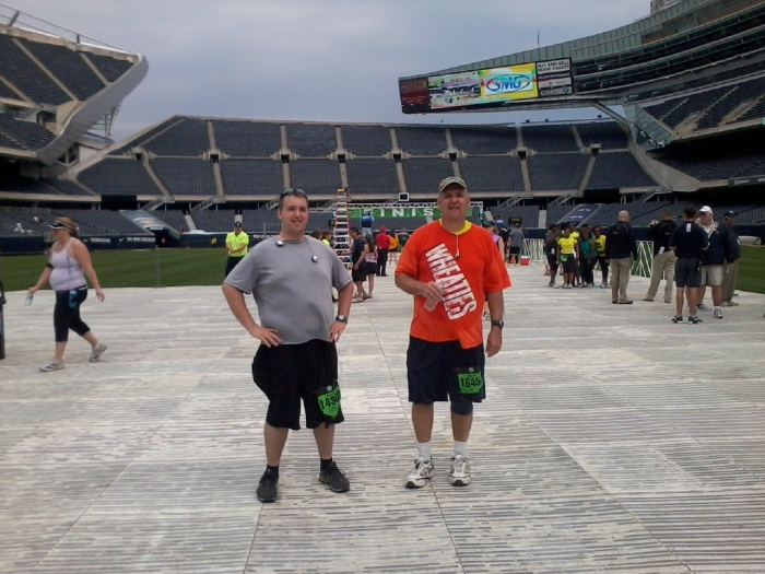 D&K finish at soldier field 05262012